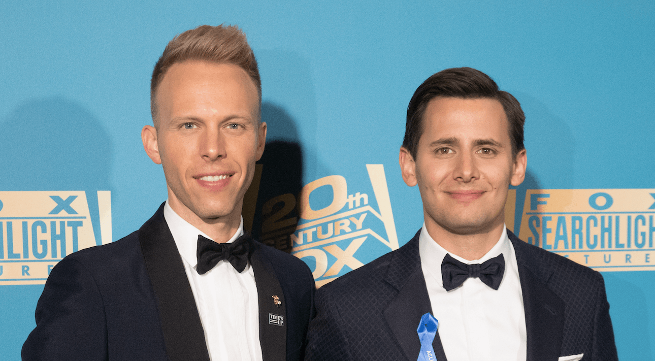 Songwriters Benj Pasek and Justin Paul