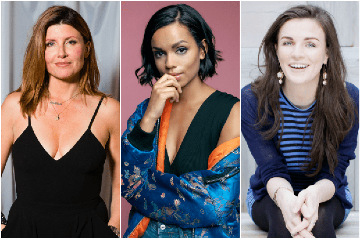 Sharon Horgan, Georgina Campbell, Aisling Bea (Getty, Tom Leishman, Anthony Woods, EH)