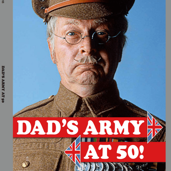 Dad's Army at 50 cover