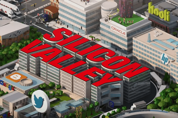 Silicon Valley opening credits https://www.youtube.com/watch?v=4eMYiDaY3-Q, TL