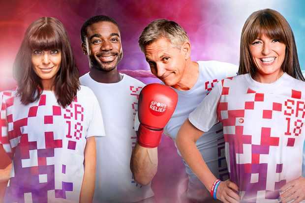 Sport Relief 2018 Presenters