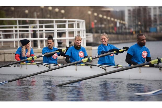 Sport Relief ITV vs BBC Celebrity Rowing