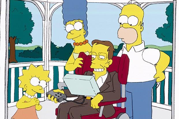 Stephen Hawking on the Simpsons