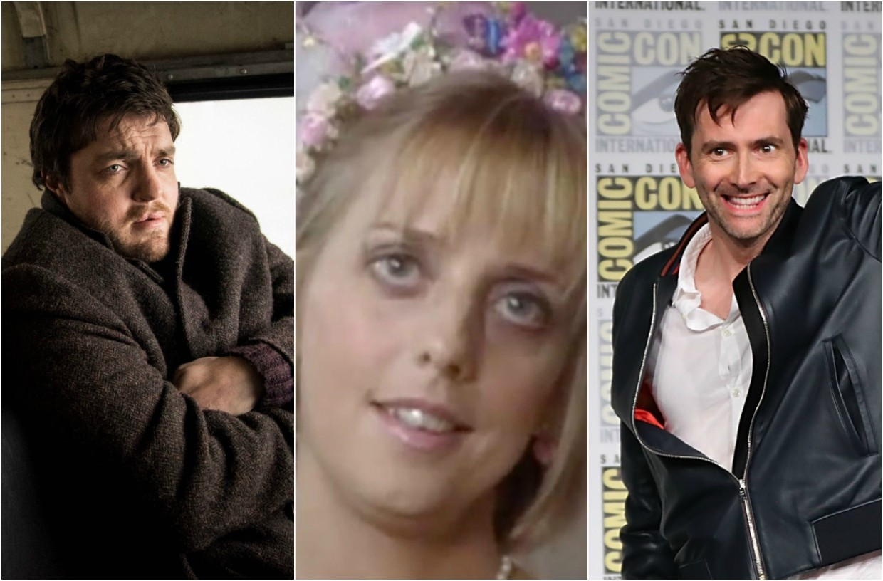 Strike Emma Chambers and David Tennant