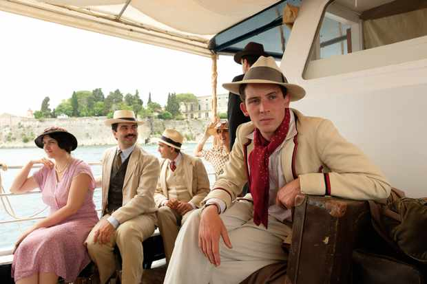 Larry in The Durrells