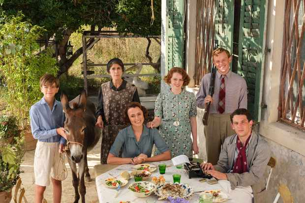 Milo Parker as Gerry Durrell, Anna Savva as Lugaretzia, Keeley Hawes as Louisa Durrell, Daisy Waterstone as Margo Durrell, Callum Woodlouse as Leslie Durrell and Josh O'Connor as Larry Durrell