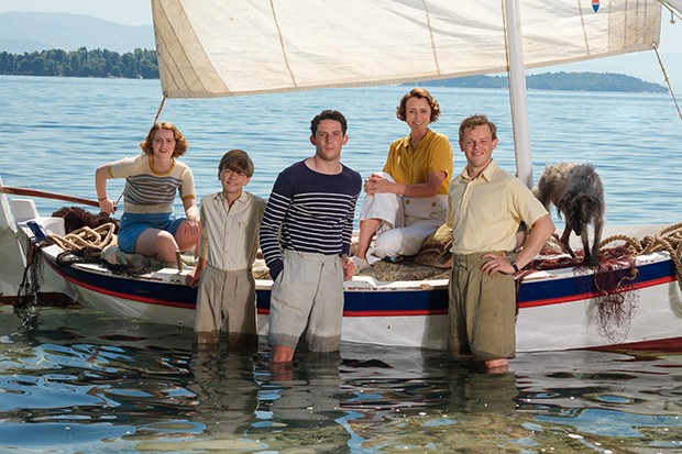 The Durrells on the sea