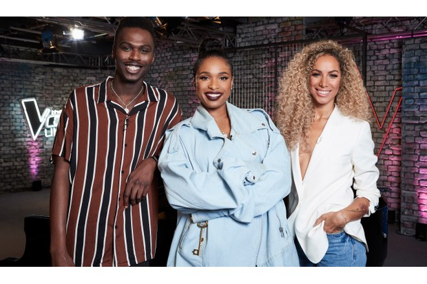 Jennifer Hudson, Mo Jamil and Leona Lewis on The Voice UK
