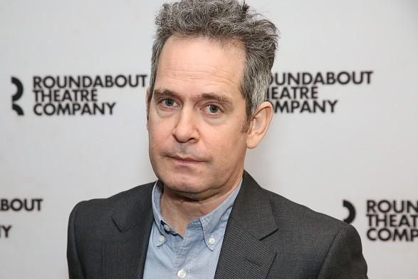 "NEW YORK, NY - MARCH 06: Tom Hollander attends the ""Travesties"" Cast Photo Call on March 6, 2018 at the Roundabout Theatre in New York City. (Photo by Walter McBride/Getty Images)"