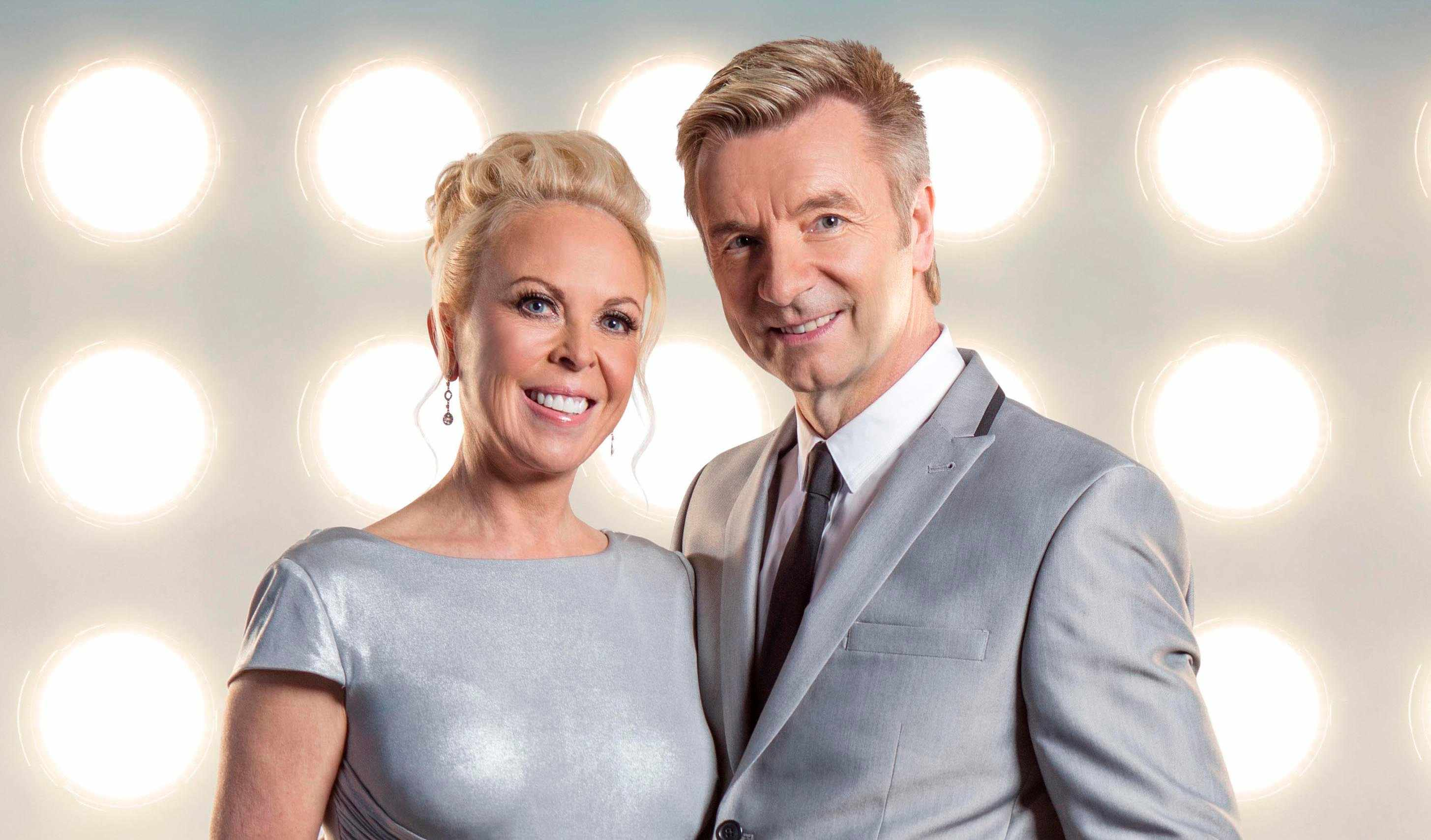 Jayne Torvill and Christopher Dean on Dancing on Ice