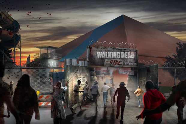 USE THIS WALKING DEAD RIDE