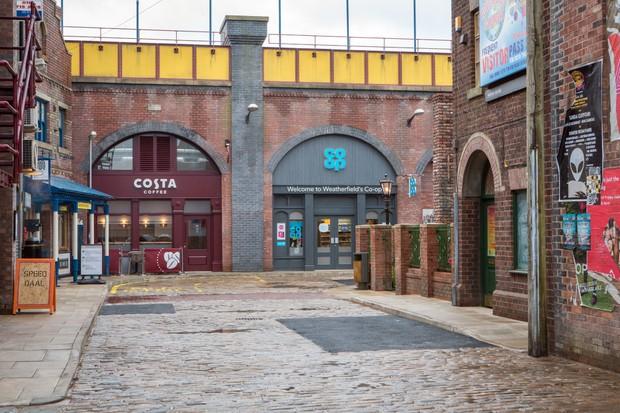 Coronation Street Victoria Street Costa Coffee