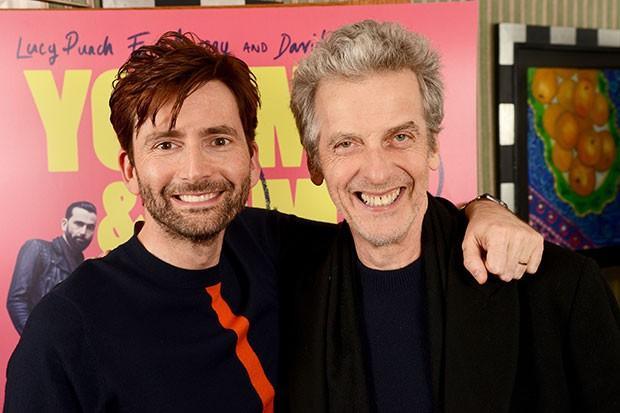David Tennant and Peter Capaldi, Getty, SL