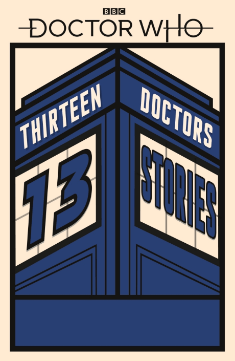 A paperback cover from the Doctor Who anthology (Penguin, HF)