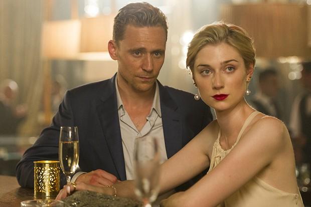 Tom Hiddleston and Elizabeth Debicki in The Night Manager (BBC, AMC, HF)