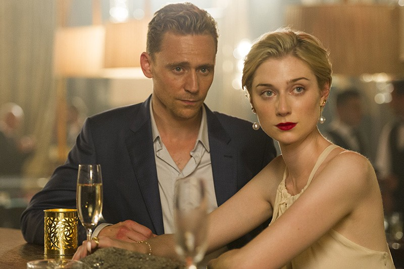 Tom Hiddleston and Elizabeth Debicki in The Night Manager (BBC, AMC, HF)
