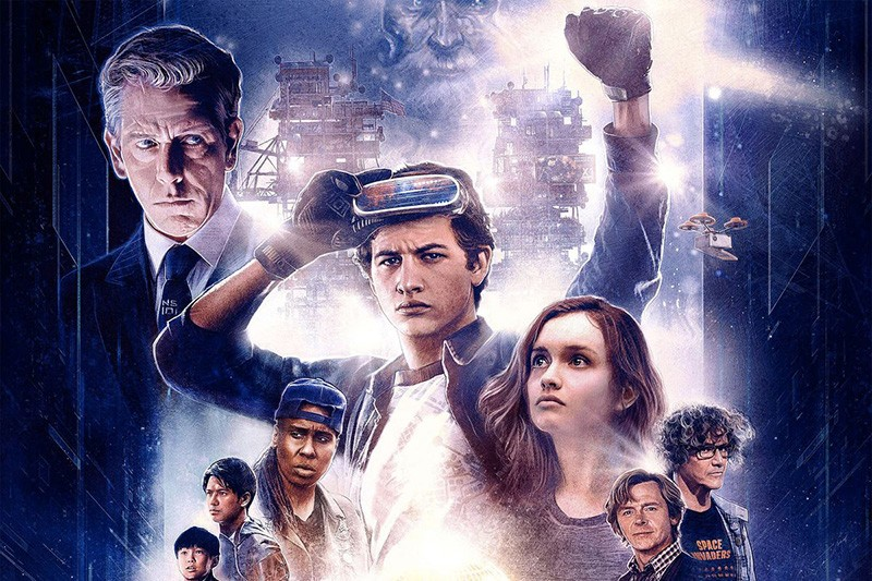 The poster for Ready Player One (Warner Bros, HF)