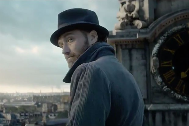 Jude Law in Fantastic Beasts, YouTube, SL