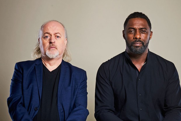 Idris Elba and Bill Bailey