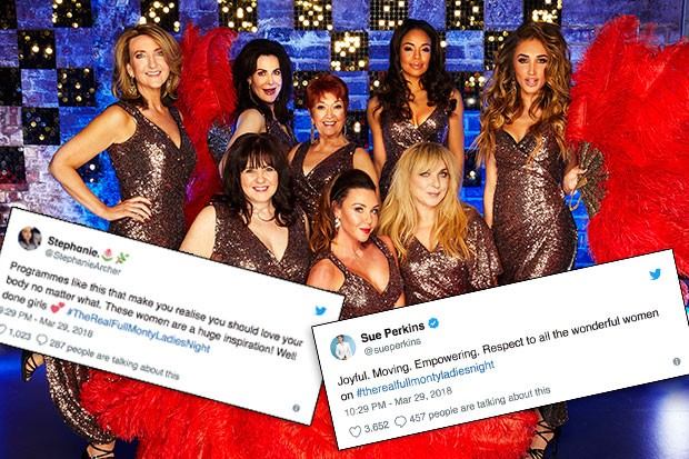 The Real Full Monty: Ladies' Night, ITV Pictures, SL