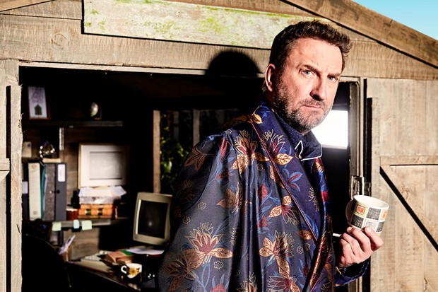 Lee Mack Radio Times shoot