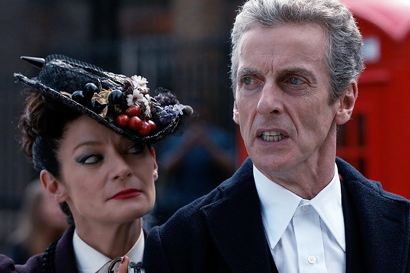 Peter Capaldi and Michelle Gomez in Doctor Who (BBC, HF)