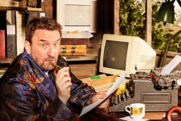 Lee Mack in the shed