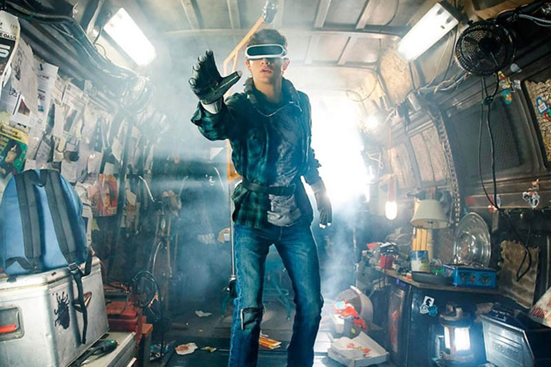 Tye Sheridan as Wade Watts in Ready Player One (Warner Bros, HF)