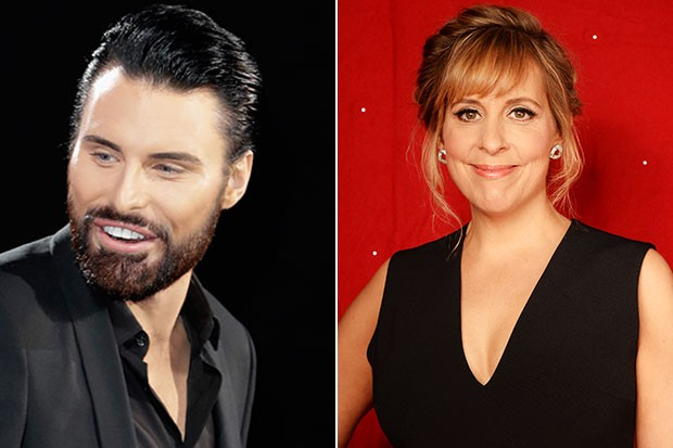 Rylan Clark-Neal and Mel Giedroyc, Getty, SL