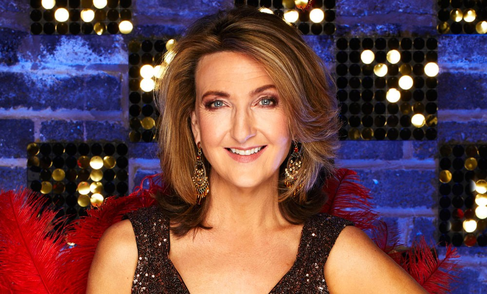 STRICTLY EMBARGOED PICTURE: FOR PUBLICATION FROM TUESDAY 20th MARCH 2018  From Spungold Productions   THE REAL FULL MONTY : LADIES NIGHT  Thursday 29th March 2018 on ITV   Pictured: Victoria Derbyshire.   Hot on the heels of the return of ÔThe Real Full MontyÕ, eight female celebrities are gearing up for the performance of their lives in ÔThe Real Full Monty: LadiesÕ NightÕ, determined to show the boys how itÕs done and raise awareness of breast cancer.  This ÔsisterÕ commission to The Real Full Monty will see two unforgettable nights running on ITV.  The menÕs Real Full Monty might be bigger and better than ever before, but the eight brave ladies ready to take them on are TV presenter Coleen Nolan, broadcaster Victoria Derbyshire, Emmerdale actress Sally Dexter, reality TV star Megan McKenna, former Liberty X singer Michelle Heaton, actress Helen Lederer, TV legend Ruth Madoc and presenter Sarah-Jane Crawford - for all of whom the issue of breast cancer awareness is close to their hearts.  The ladiesÕ mission is to pull together to create a show-stopping performance that will wow the audience as they battle to overcome their nerves and inhibitions, learn to love their bodies and dare to bare for a good cause. Along the way they visit the legendary Moulin Rouge in Paris to get inspiration for the show.  © ITV   Photographer: Nicky Johnston   This photograph is © ITV and can only be reproduced for editorial purposes directly in connection with the  programme THE REAL FULL MONTY : LADIES NIGHT  or ITV. Once made available by the ITV Picture Desk, this photograph can be reproduced once only up until the Transmission date and no reproduction fee will be charged. Any subsequent usage may incur a fee. This photograph must not be syndicated to any other publication or website, or permanently archived, without the express written permission of ITV Picture Desk. Full Terms and conditions are available on the website www.itvpictures.com  ITV, TL