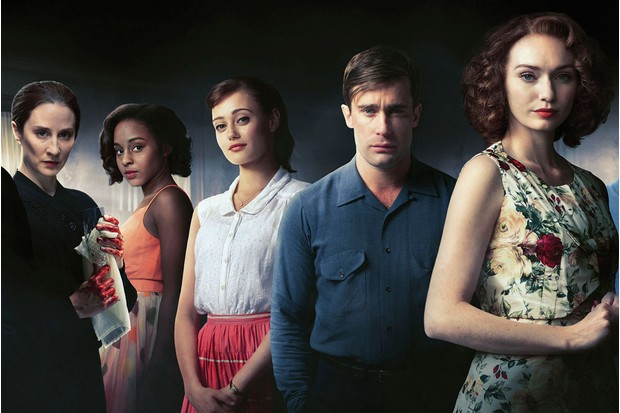 Westwick's replacement, Christian Cooke can be seen alongside Morven Christie (as Kirsten Lindstrom), Crystal Clarke (Tina Argyll), Ella Purnell (Hester Argyll) and Poldark's Eleanor Tomlinson (Mary Durrant)