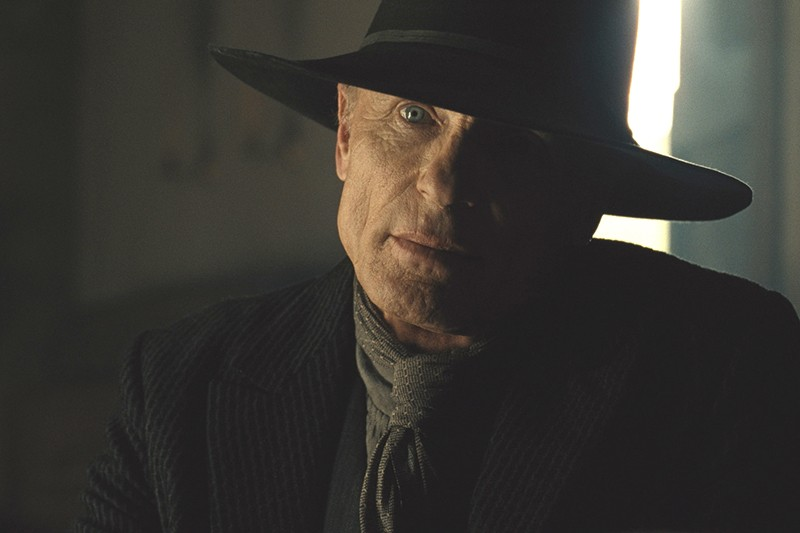 Ed Harris as the Man in Black/William in Westworld season 2 (Sky, HF)