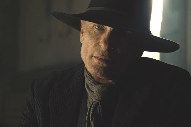 Ed Harris as the Man in Black/William in Westworld season 2 (Sky, HF)