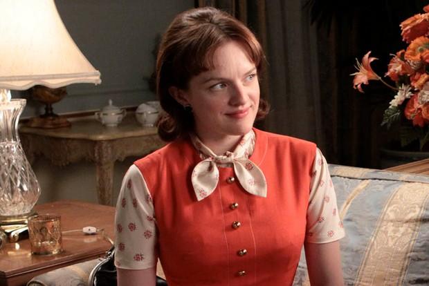 Elisabeth Moss as Peggy Olsen in Mad Men