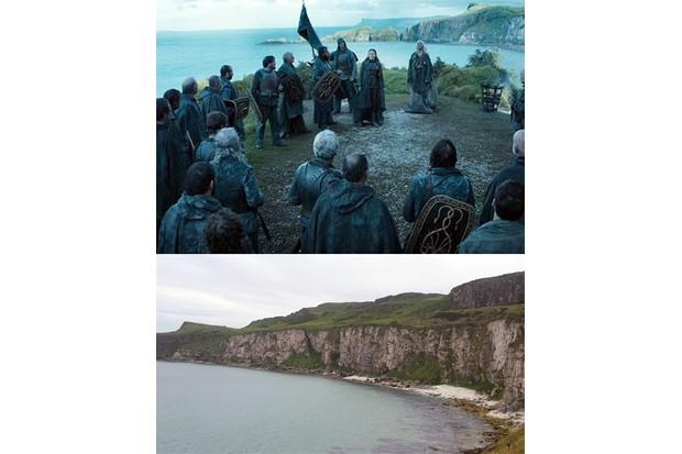Game of Thrones location, Kingsmoot scene, Northern Ireland