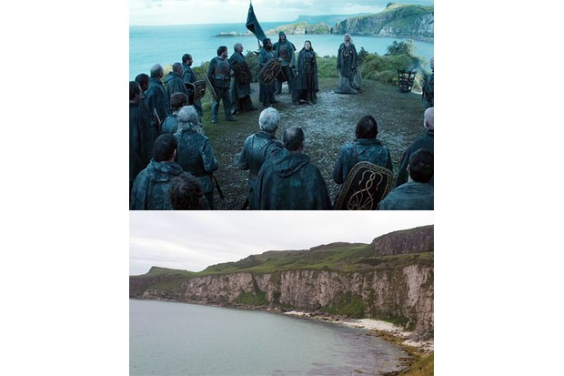 Game of Thrones location, Kingsmoot scene, Northern Ireland