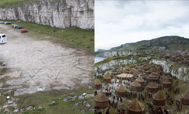 Game of Thrones, Stormlands, chalk quarry