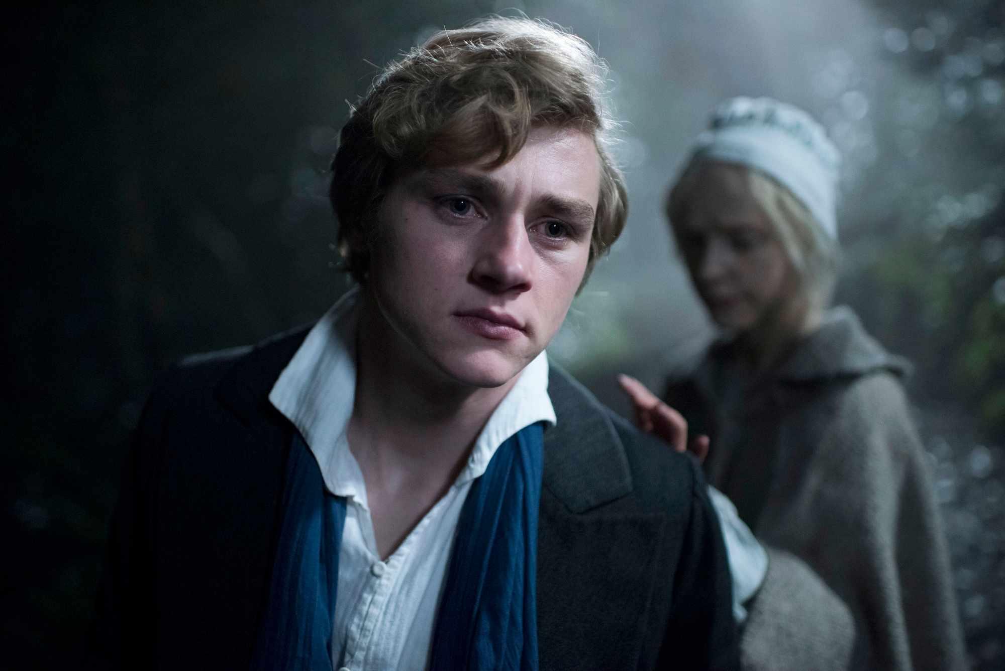 Walter (BEN HARDY), Anne (OLIVIA VINALL) - (C) Origin Pictures - Photographer: Steffan Hill