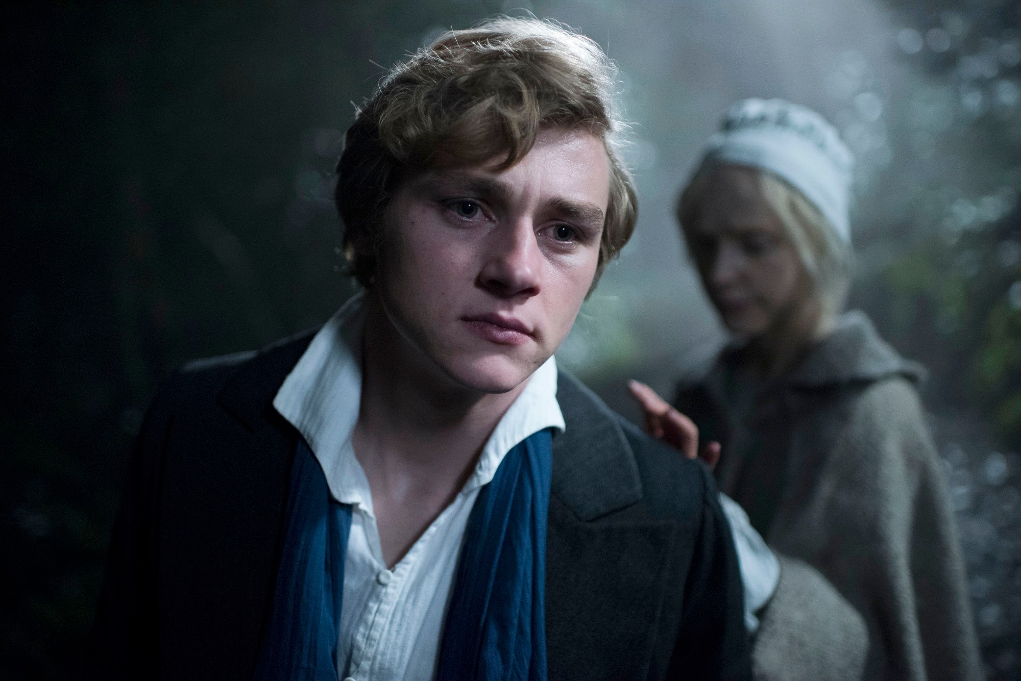 Walter (BEN HARDY), Anne (OLIVIA VINALL) - (C) Origin Pictures - Photographer: Steffan Hill