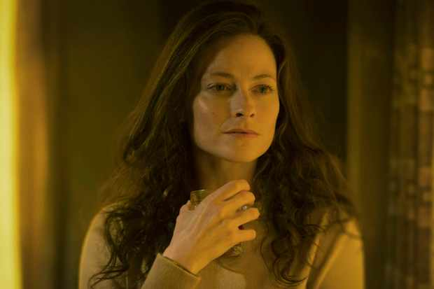 Programme Name: The City and the City  - TX: 06/04/2018 - Episode: n/a (No. 1) - Picture Shows:  Katrynia (LARA PULVER) - (C) Mammoth Screen - Photographer: Des Willie