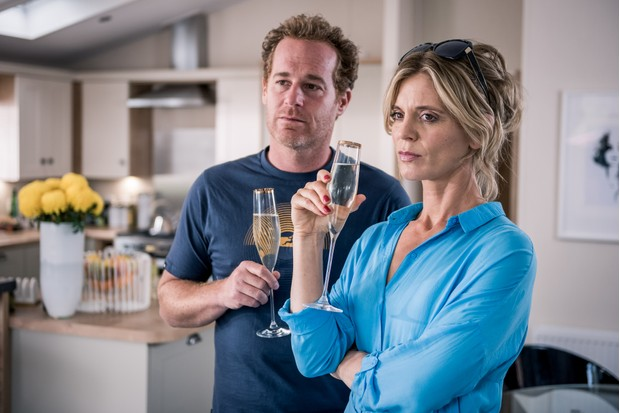 Adam James and Emilia Fox, Home from Home (BBC, EH)