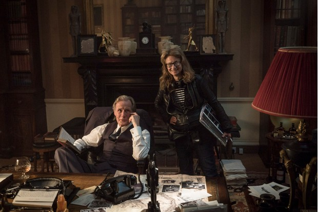 Bill Nighy with director Sandra Goldbacher