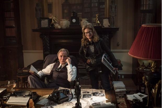 Bill Nighy with director Sandra Goldbacher
