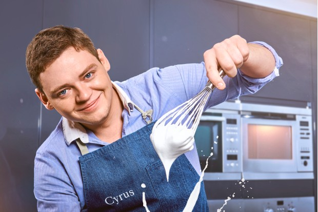 WARNING: Embargoed for publication until 00:00:01 on 21/04/2018 - Programme Name: Britain's Best Home Cook - TX: 03/05/2018 - Episode: n/a (No. 1) - Picture Shows: ***EMBARGOED UNTIL 21st APRIL 2018*** Cyrus - (C) KEO - Photographer: Des Willie