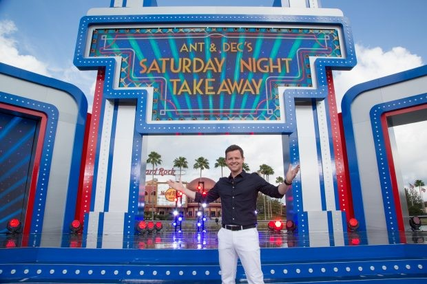 Declan Donnelly hosting Saturday Night Takeaway