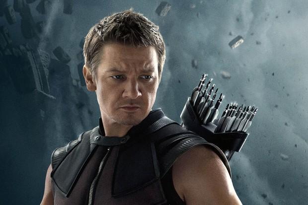 Jeremy Renner as Hawkeye (Marvel, HF)