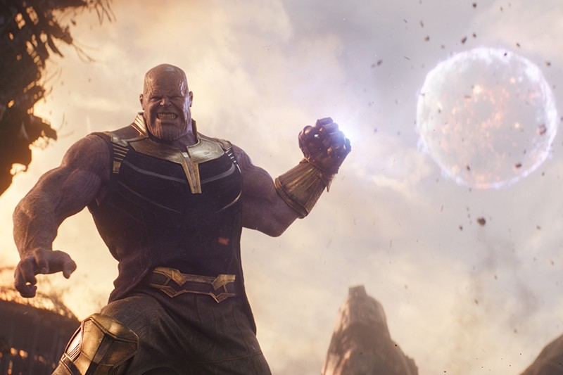 Josh Brolin as Thanos in Avengers: Infinity War (Disney, HF)