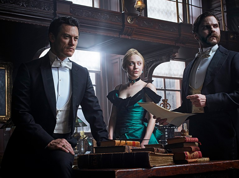 Netflix S The Alienist Meet The Cast Dakota Fanning Luke Evans Daniel Bruhl Radio Times