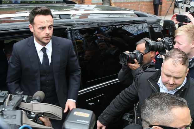 Ant McPartlin appears In court charged with drink driving