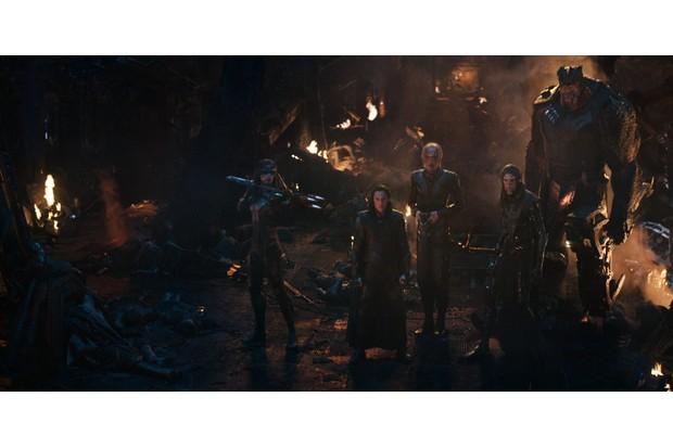 The Black Order in Avengers: Infinity War (Marvel, HF)